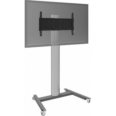 SmartMetals Ondeelbaar statief-trolley voor schermen max 85 kg (economy uitvoering) TV standaard - .....
