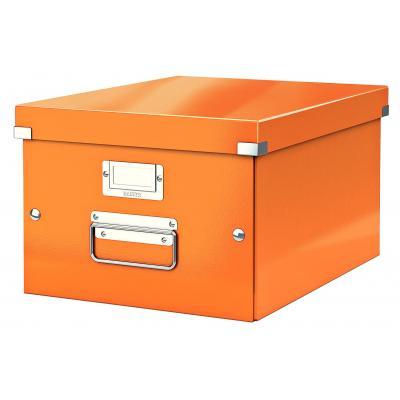Leitz archiefdoos: Click & Store middelgrote doos - Oranje