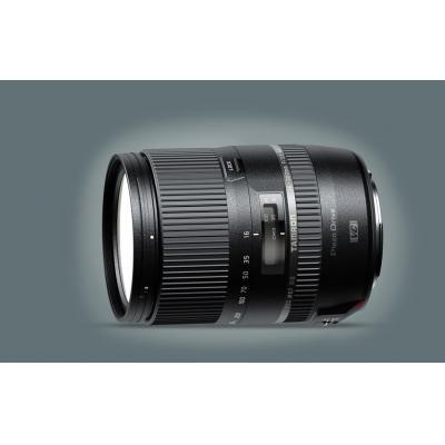 Tamron camera lens: 16-300mm F/3.5-6.3 Di II VC PZD