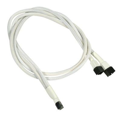Nanoxia 900400003 Kabel adapter - Wit