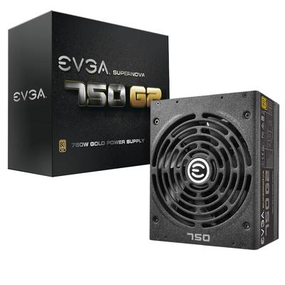Evga power supply unit: SuperNOVA 750 G2 - Zwart