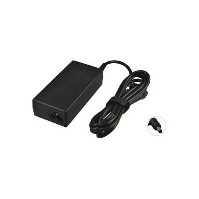 2-power netvoeding: AC Adapter 18.5V 65W w/ Power cable for HP Pavilion TouchSmart 21-H010 - Zwart