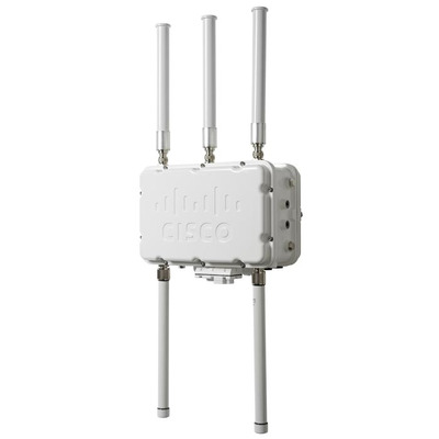 Cisco Aironet 1552SA-E-K9 802.11n Ext-Ant Outdoor Access point - Wit
