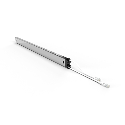 PATCHBOX ® Plus+ Cat.6a Cassette (UTP, White, Long Range 1.8m + 0.7m / 46RU) Netwerkkabel - Wit