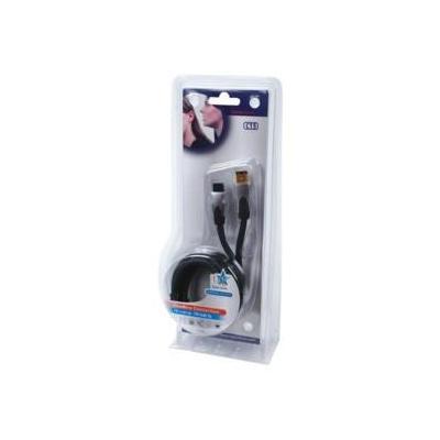 Hq fireware kabel: SS6275/1.5 - Zwart
