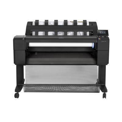 Hp grootformaat printer: Designjet DesignJet T930 36-inch PostScript-printer - Cyaan, Grijs, Magenta, Mat Zwart, Foto .....