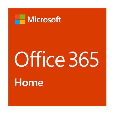 Microsoft software suite: Office 365 Home