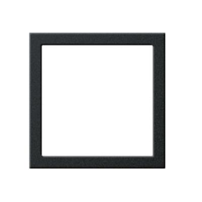GIRA Montageplaat, zwart mat