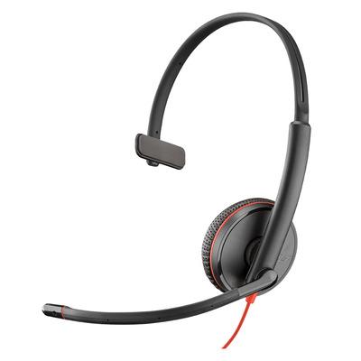 POLY Blackwire 3215 Headset - Zwart