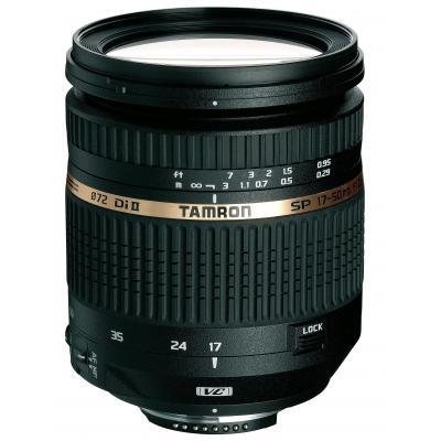 Tamron camera lens: SP AF 17-50mm F/2.8 XR Di II VC LD - Zwart
