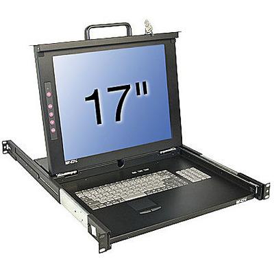 Lindy 21607 - QWERTY Rack console - Zwart