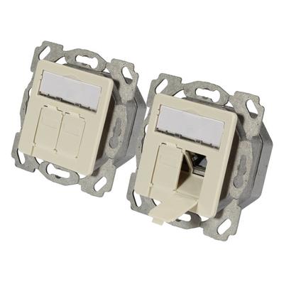 EFB Elektronik ET-25133.1V1 Wandcontactdoos - Wit