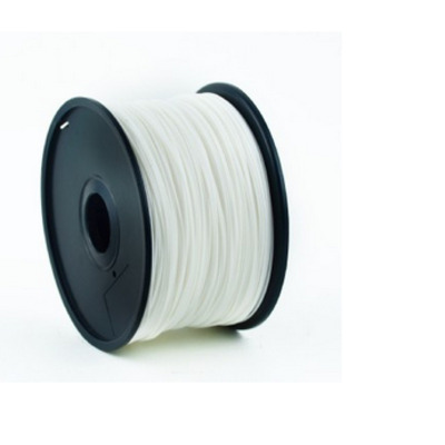 Gembird ABS plastic filament voor 3D printers, 1.75 mm diameter, wit 3D printing material