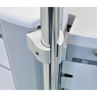 Ergotron SV IV Pole Clamp Kit Montagekit - Aluminium