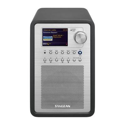 Sangean radio: WFR-70 Internet Radio / DAB+ / FM-RDS / USB / Network Music Player - Grijs, Zilver