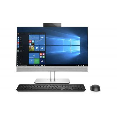 Hp all-in-one pc: EliteOne 800 G3 AiO - Zwart, Zilver
