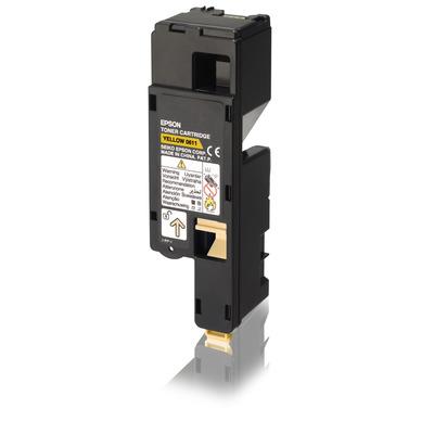 Epson High Capacity Cartridge Yellow 1.4k Toner - Geel