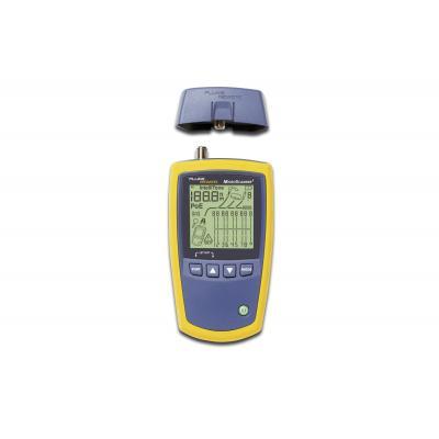 Assmann electronic netwerkkabel tester: MicroScanner2 - Paars, Geel
