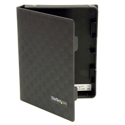 StarTech.com 2,5 inch Antistatische Harde Schijf Beschermhoes Zwart (3 stuks)
