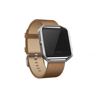 "Fitbit : FB159LBCML, Large, 1.58'', 17.018 cm (6.7 "") - 8.1"", leather - Bruin"