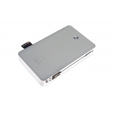 Xtorm powerbank: Li-ion, 17000mAh, 2 x USB A, QC 3.0, 135 x 82 x 23mm - Grijs, Wit