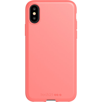 Antimicrobial Backcover iPhone Xs / X - Coral My World - Koraal Mobile phone case
