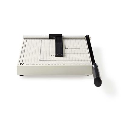 Nedis PACU110A4 Snijmachine - Zwart, Zilver