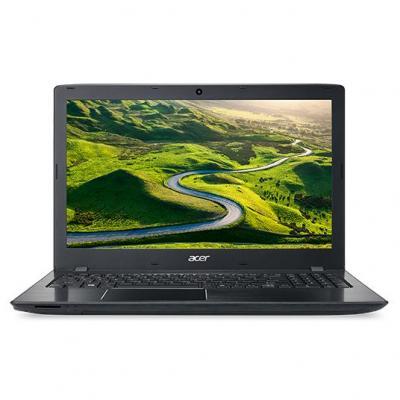 Acer laptop: Aspire E5-575G-57VB - Zwart
