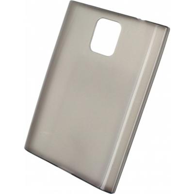 Mobilize Gelly Case Smokey Grey BlackBerry Passport Mobile phone case - Grijs, Transparant