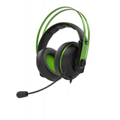 Asus headset: Cerberus V2 - Zwart, Groen