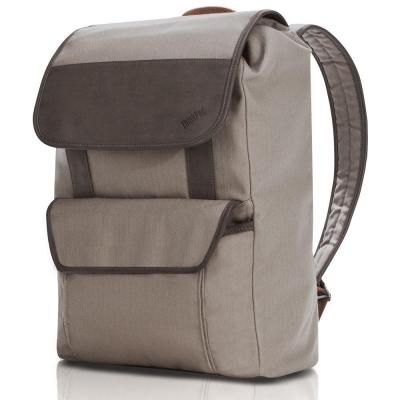 Lenovo rugzak: ThinkPad Casual BackPack - Beige, Bruin
