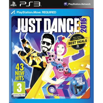 Ubisoft game: Just Dance 2016  PS3