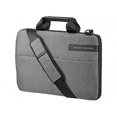 "Hp laptoptas: 35.5 cm (14"") Signature Slim Topload - Zwart, Grijs"