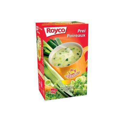 Royco voedingswaar: Minute soup Prei/doos 25 zk