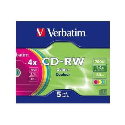Verbatim CD: CD-RW Colour 4x