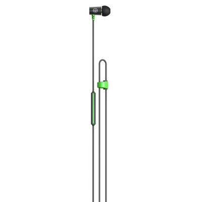 IFROGZ Luxe air Headset - Zwart, Groen, Grijs
