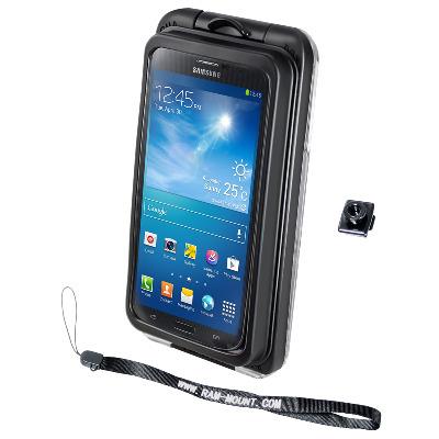 RAM Mounts RAM-HOL-AQ7-2LU Mobile phone case - Zwart, Transparant