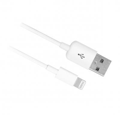 Ewent kabel: USB Lightning Cable for Apple 1.0M - Wit