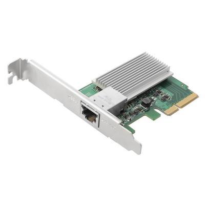 Edimax PCI E 2.0 x4, 10G RJ-45, 82x62 mm, 45 g Netwerkkaart - Groen, Grijs