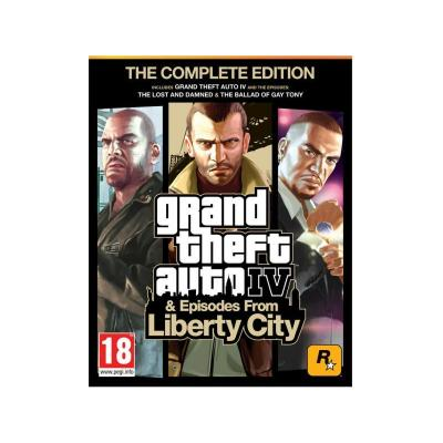 Rockstar games game: Grand Theft Auto IV: The Complete Edition PC