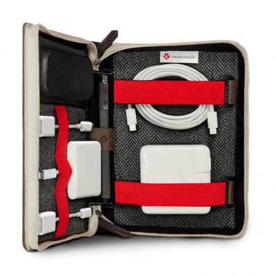 TwelveSouth BookBook CaddySack Apparatuurtas - Bruin