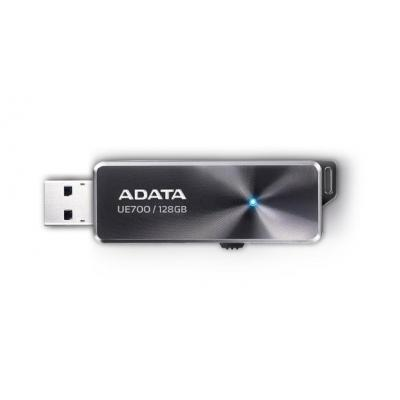 Adata USB flash drive: DashDrive Elite UE700, 128GB - Zwart