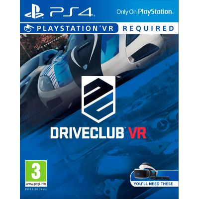 Sony game: Driveclub VR  PS4
