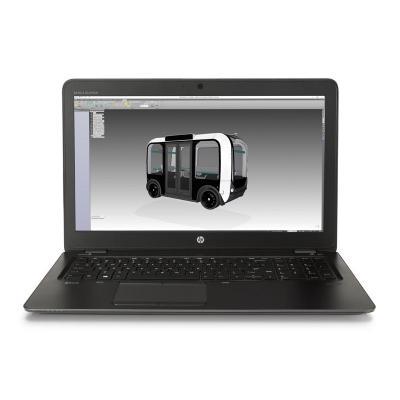 HP laptop: ZBook 15u G4 - Zwart