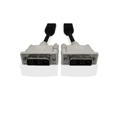 Fujitsu DVI-D, 1.8m DVI kabel  - Zwart, Grijs