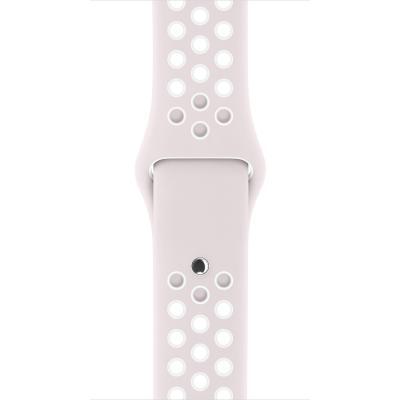 Apple : Sportbandje van Nike - Licht violet/wit (42 mm) - Violet, Wit