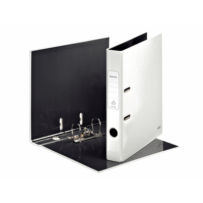 Leitz 180° WOW Lever Arch File - pearl white Ringband - Wit