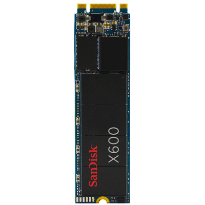 Sandisk X600 SSD - Zwart
