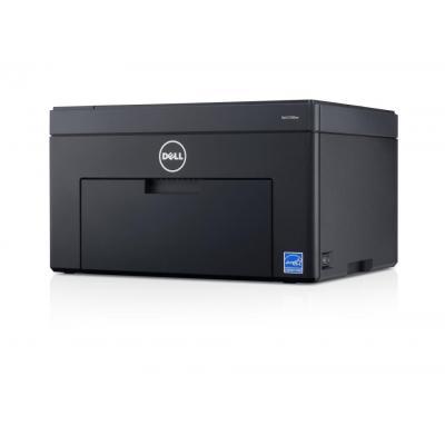 Dell laserprinter: C1760nw - Zwart, Cyaan, Magenta, Geel