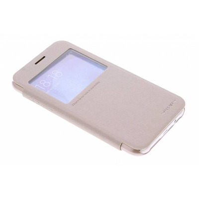 Sparkle Slim Booktype Samsung Galaxy J5 - Goud / Gold Mobile phone case